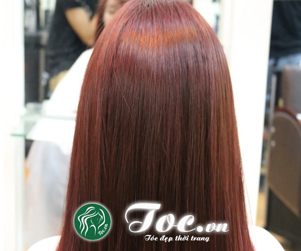 Dịch vụ duỗi tóc hơi nước chuyên nghiệp