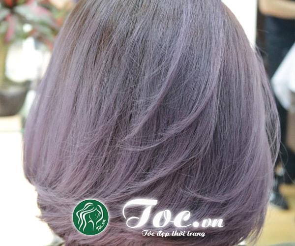 Nhuộm tóc nữ màu đẹp, tóc khỏe