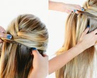 Hướng dẫn tết tóc đuôi cá lệch dễ thương