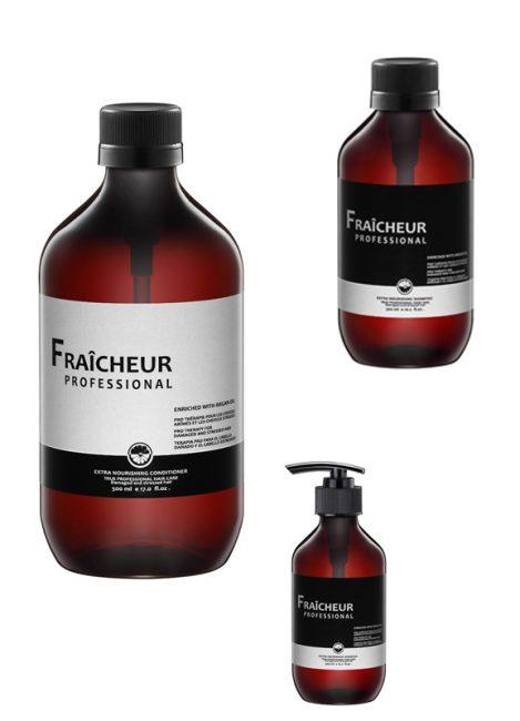 Bộ dầu gội và xả Fraicheur giúp phục hồi tóc hiệu quả