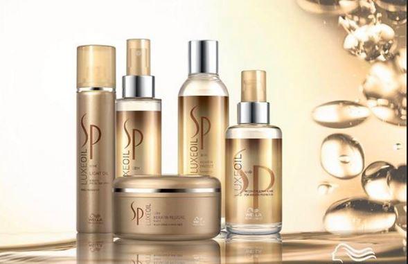 Tinh dầu Argan Keratin SP Wella Luxe Oil dưỡng tóc hư tổn nặng