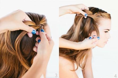 Cách tết tóc thác nước đẹp lung linh cho các bạn nữ