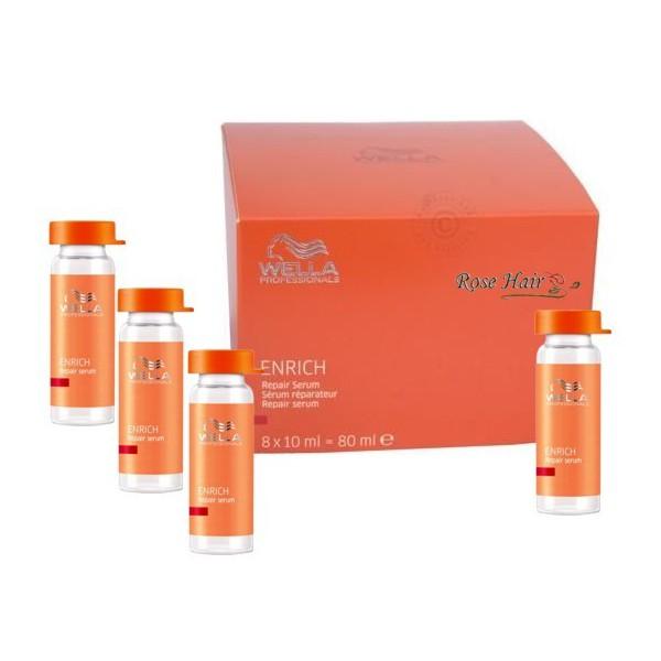 Huyết thanh phục hồi tóc hư tổn Wella Enrich Repair Serum