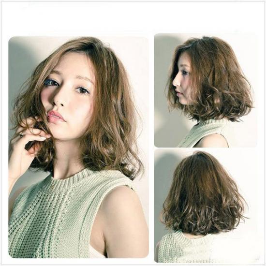 Bộ sưu tập các kiểu tóc xoăn công sở