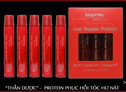 Sophia Protein Repair chuyên phục hồi tóc hư nát