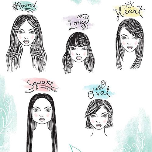 Cách chọn kiểu tóc đẹp phù hợp với gương mặt của bạn