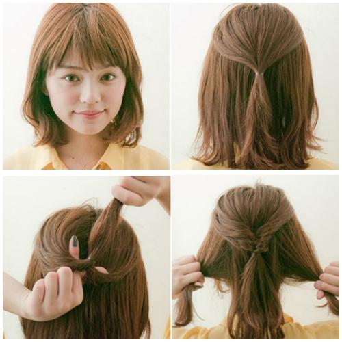 """""""Hô biến"""" mái tóc cực xinh cho ngày đầu tuần năng động"""
