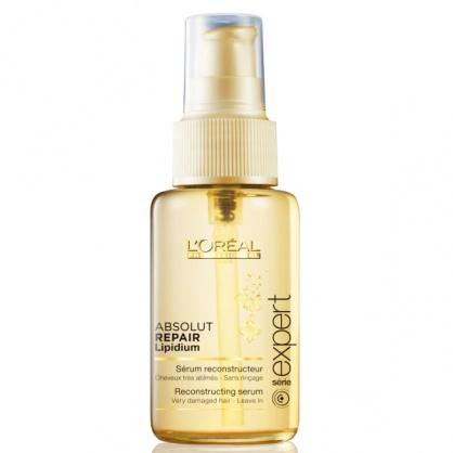 Serum phục hồi tóc Loreal Absolute Repair Lipidium 3 tác động