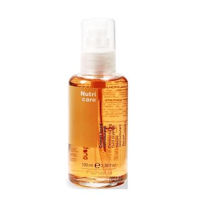 Serum Nutricare Fanola - Tinh dầu bóng dưỡng tóc của Ý 100ml