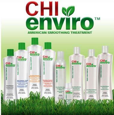 Tinh dầu CHI Enviro Smoothing Serum dưỡng ẩm, giảm rối
