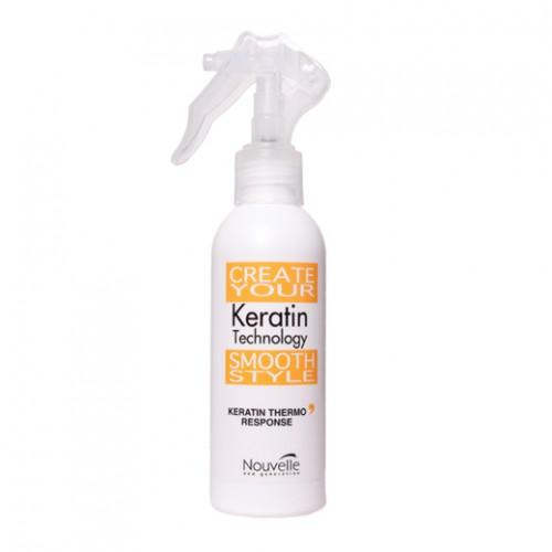 Tinh dầu Keratin Nouvelle Thermo Response chữa trị tóc hư 150ml