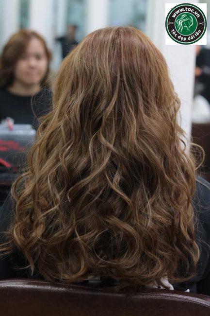 Uốn ẩm cao cấp công nghệ uốn tóc Hàn Quốc