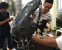 Uốn ẩm với robot thông minh wave master