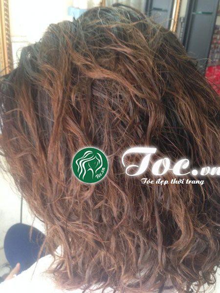 Phục hồi tóc nát, tóc hư tổn