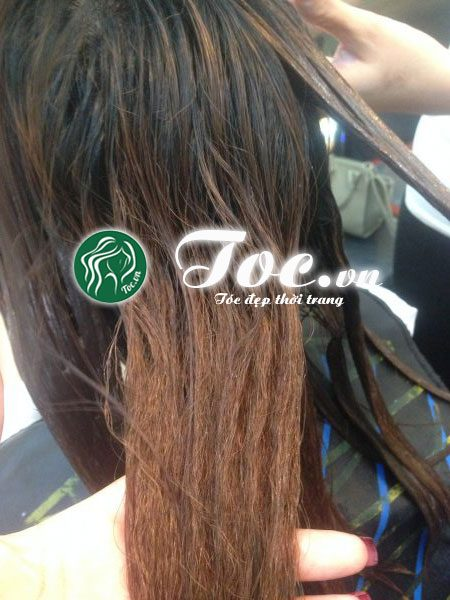 Phục hồi tóc hư tổn nặng