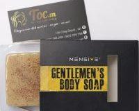 Bánh soap body (xà bông tắm) 100gr của Mensive Gentlemen's với những công dụng không tưởng