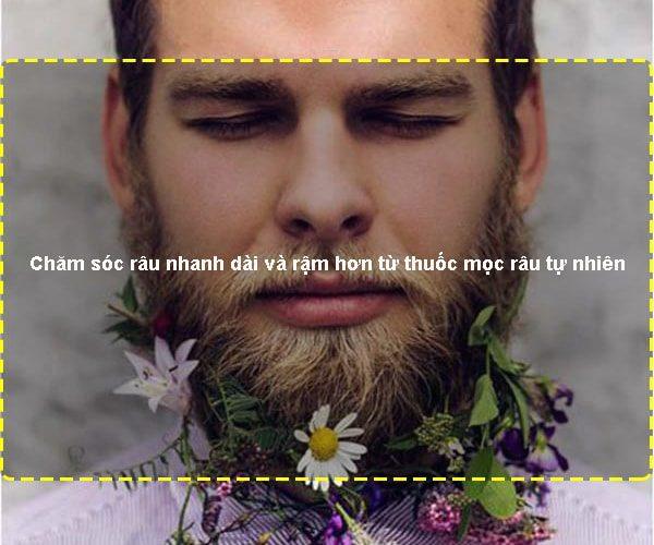 Chăm sóc râu nhanh dài và rậm hơn từ thuốc mọc râu tự nhiên