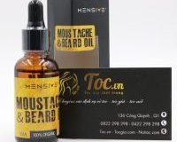 Thuốc mọc râu moustache and beard oil - Dầu kích thích mọc râu của Mensive