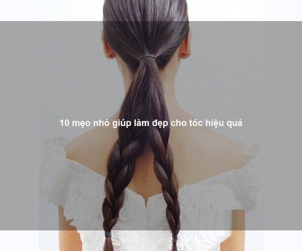 10 mẹo nhỏ giúp làm đẹp cho tóc hiệu quả