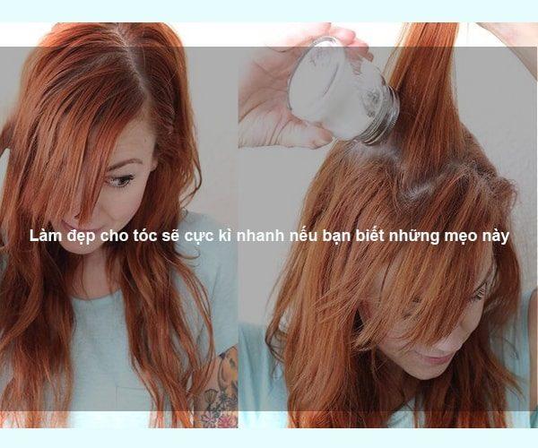 Làm đẹp cho tóc sẽ cực kì nhanh nếu bạn biết những mẹo này