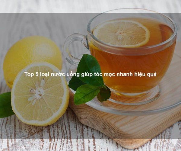 Top 5 loại nước uống giúp tóc mọc nhanh hiệu quả