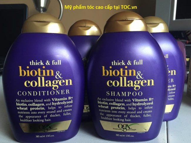 Bộ dầu gội và xả tóc biotin nhập khẩu Mỹ