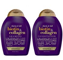 Bộ gội và xả mọc tóc Biotin USA 385ml