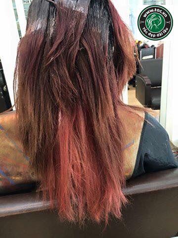Phục hồi tóc hư tổn nặng do thuốc dởm