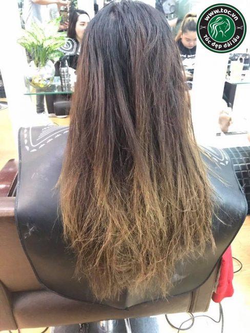 Làm phục hồi tóc hư tổn