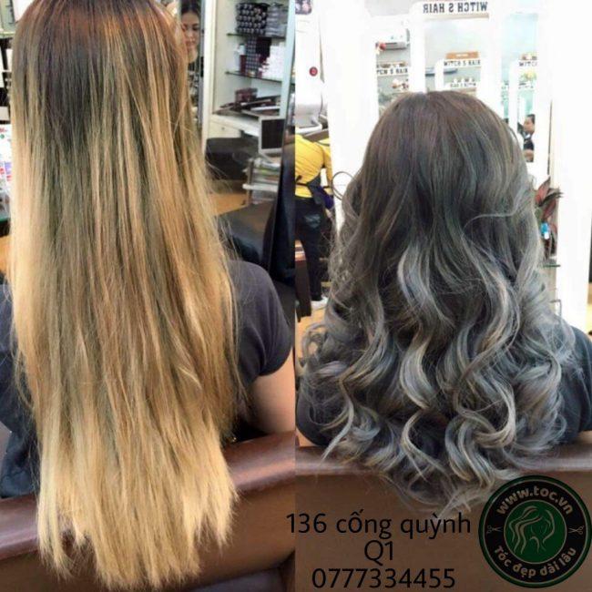 Nhộm tóc high light tại TOC.vn