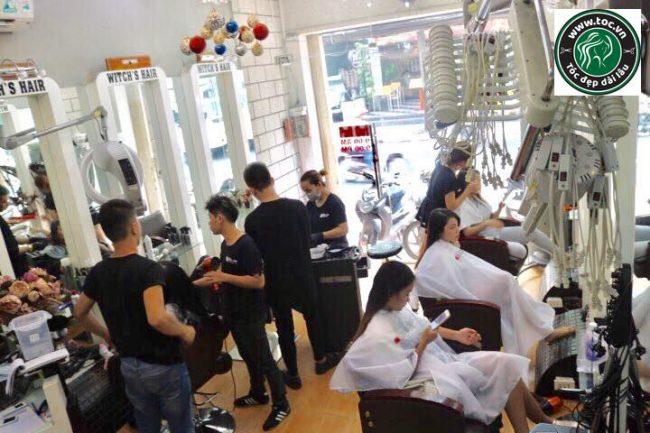 salon phục hồi hư tổn tóc