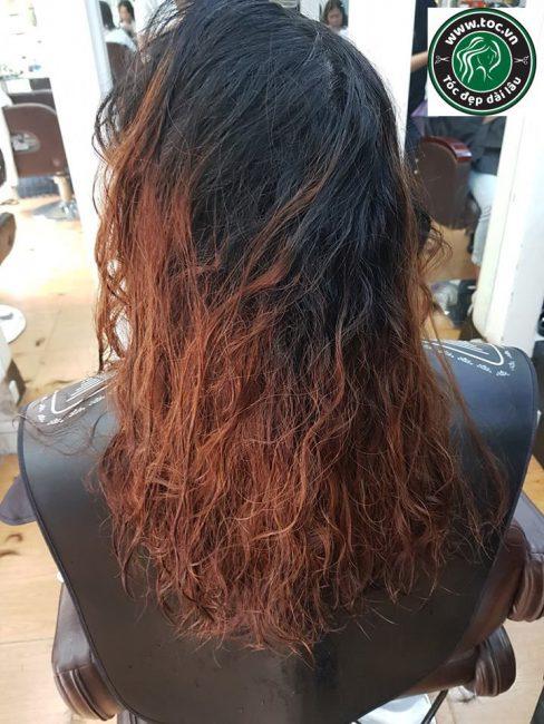 Phục hồi tóc hư tổn chuyên nghiệp