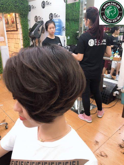 Chăm sóc tóc bồng bềnh đẹp