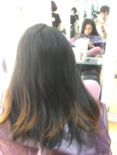 phục hồi tóc hư tổn tại quận 1