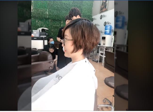cắt tóc ngắn đẹp ở sài gòn